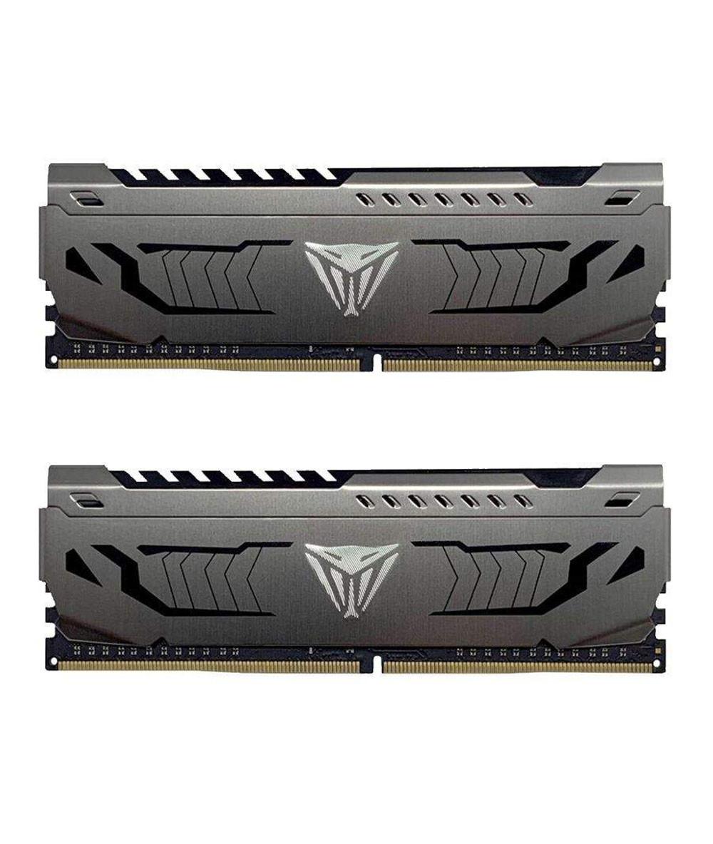 رم پاتریوت VIPER STEEL 32GB 2x16GB 3600MHz CL18
