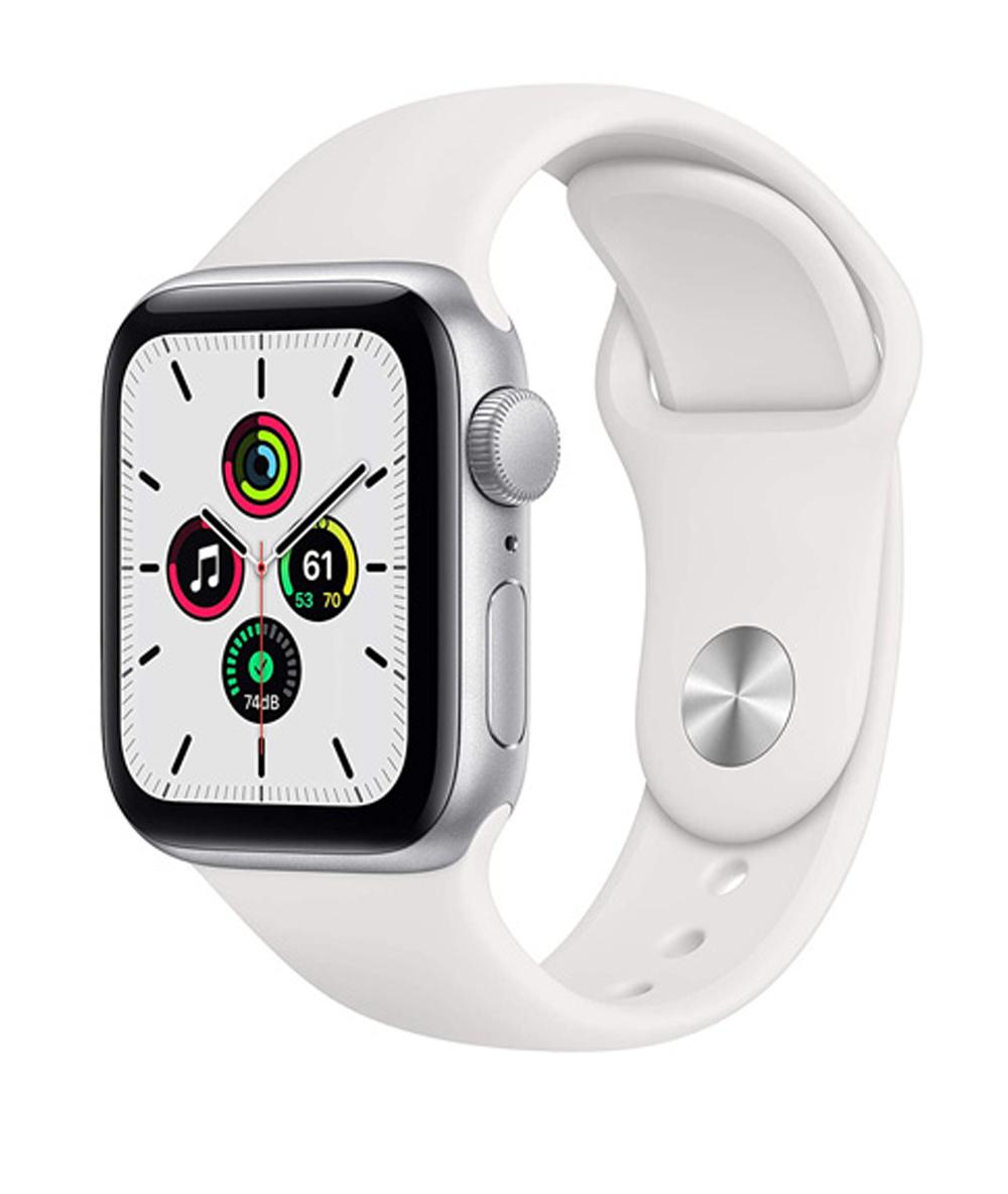 ساعت هوشمند اپل Watch Series SE 40mm Silver Aluminum Case with White Sport Band