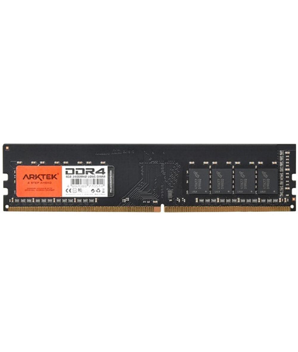 رم دسکتاپ DDR4 تک کاناله 2400 مگاهرتز CL17 آرک تک مدل LONG ظرفیت 4 گیگابایت