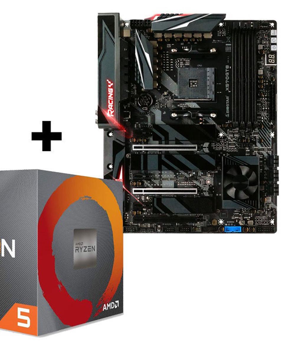 مادربرد بایوستار X570GT8 و پردازنده ای ام دی Ryzen5 3600X