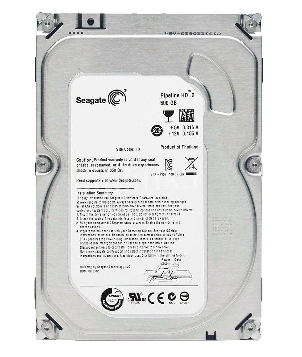 هارد اینترنال سیگیت Pipeline HD 500GB ST3500312CS