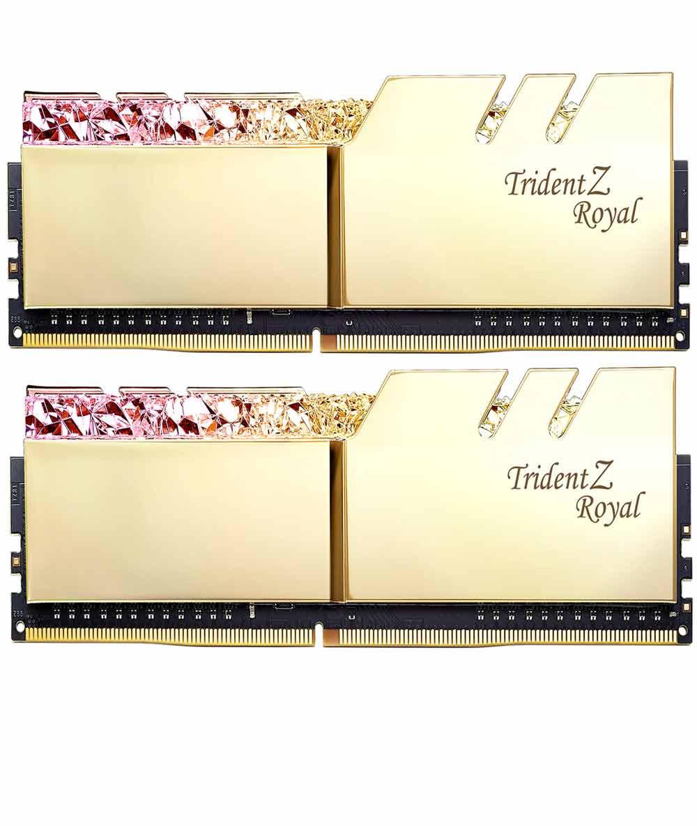 رم جی اسکیل Trident Z Royal RG 32GB 16GBx2 4000MHz CL19