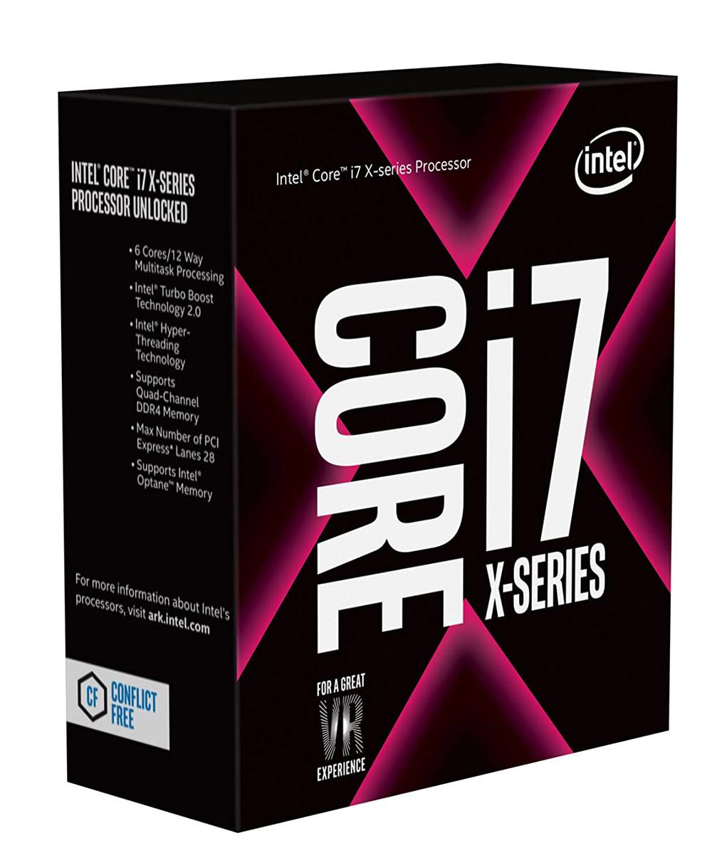 پردازنده اینتل Core i7 7800X Skylake X