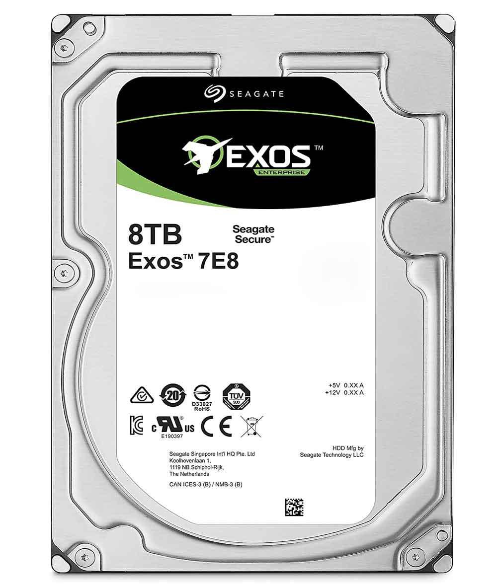 هارد اینترنال سیگیت Enterprise Exos ST8000NM000A 8TB