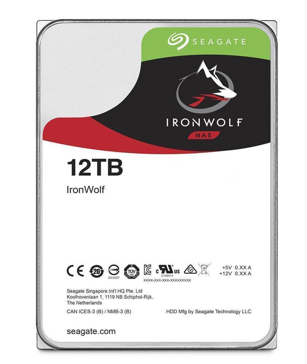 هارد اینترنال سیگیت  IronWolf NAS ST12000VN0008 12TB