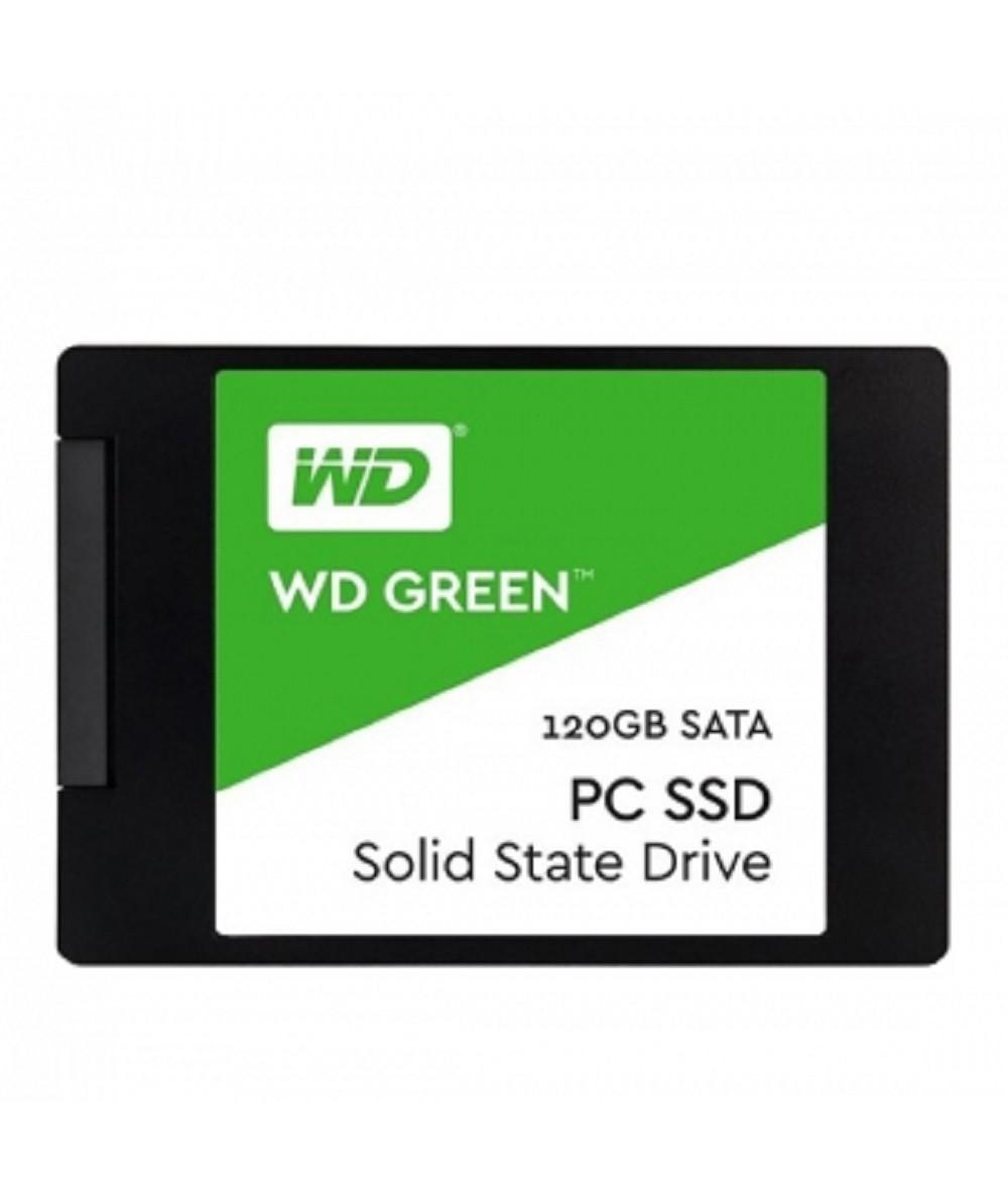 حافظه SSD وسترن دیجیتال مدل WDS120G1G0A سری سبز