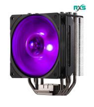 فن پردازنده همراه مایع خنک کننده کولر مستر HYPER 212 RGB BLACK EDITION