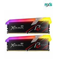رم تیم گروپ XCALIBUR Phantom Gaming RGB DDR4 16GB 3200MHz CL16 Dual Channel