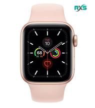 ساعت هوشمند اپل سری 5 GPS 40mm Gold Aluminum Case با دستبند صورتی اسپرتی