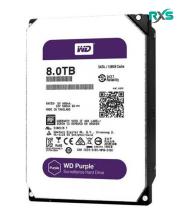 هارد اینترنال وسترن دیجیتال WD80PURX Purple 8TB 128MB Cache Internal Hard Drive