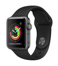 ساعت هوشمند اپل Watch Series 3 GPS 42mm Space Gray Aluminum Case with Black Sport Band