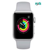 ساعت هوشمند اپل Watch 38mm GPS Series 3 Silver Aluminum Sport Band Case with Fog