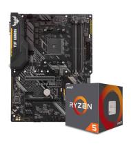 باندل مادربرد ایسوس  TUF B450-PLUS GAMING  به همراه پردازنده ای ام دیRyzen 5 2600X