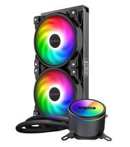 خنک کننده مایع پردازنده پی سی کولر GI-CX240 ARGB