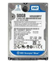 هارد اینترنال لپ تاپ وسترن دیجیتال Blue WD5000BPVT NoteBook 500GB