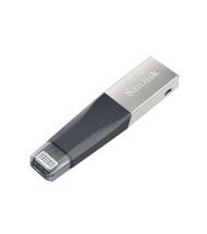 فلش مموری سن دیسک iXpand Mini 128GB USB 3.0