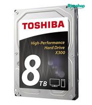 هارد اینترنال توشیبا X300 Performance HDWD180 8TB