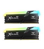 رم تیم گروپ XCALIBUR Phantom Gaming RGB 16GB 8GBx2 3600MHz CL18