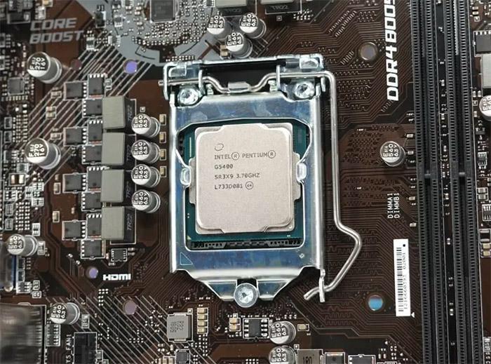 پردازنده بدون باکس اینتل Pentium Gold G5400 Coffee Lake