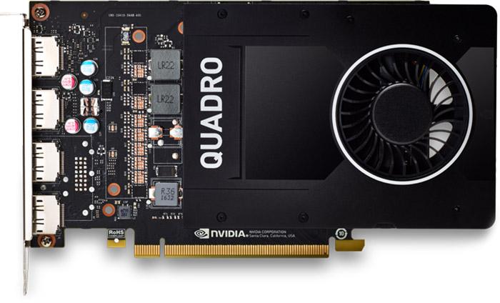 کارت گرافیک پی ان وای NVIDIA Quadro P2200